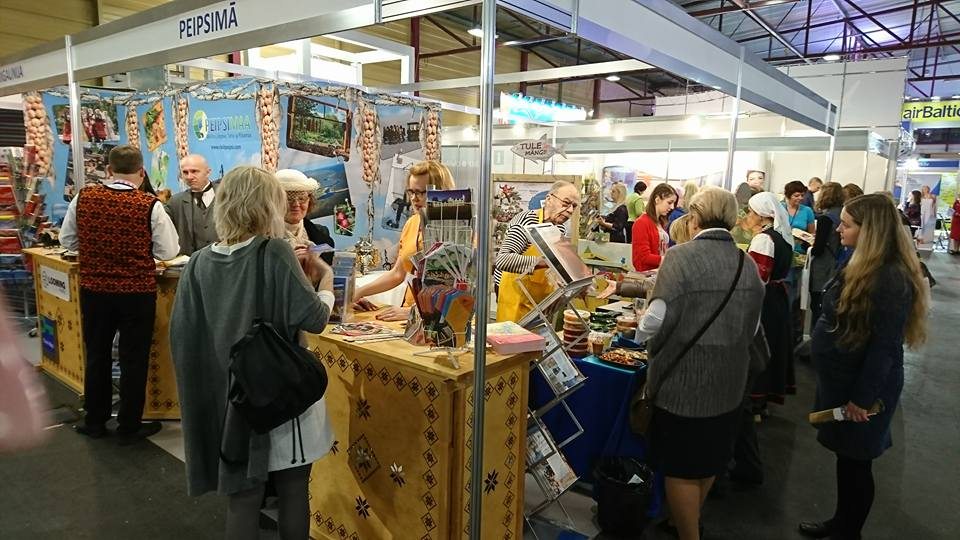 Turismimessidel tutvustati Peipsimaa maitseid ja Peipsi Järvefestivali