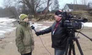 Peipsimaad külastavad Hollandlased Talvisel Kalapüügil intervjuu