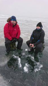 Peipsi järvel talviselt kalapüügil Hollandlased