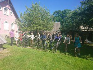 Jalgratturite kogunemine peale seminari