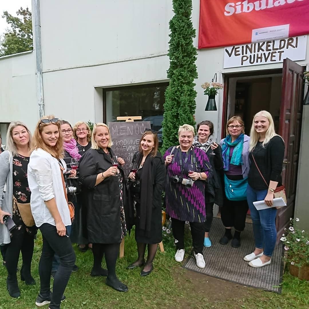 Soome toidublogijate külastus Peipsimaale septembris 2018