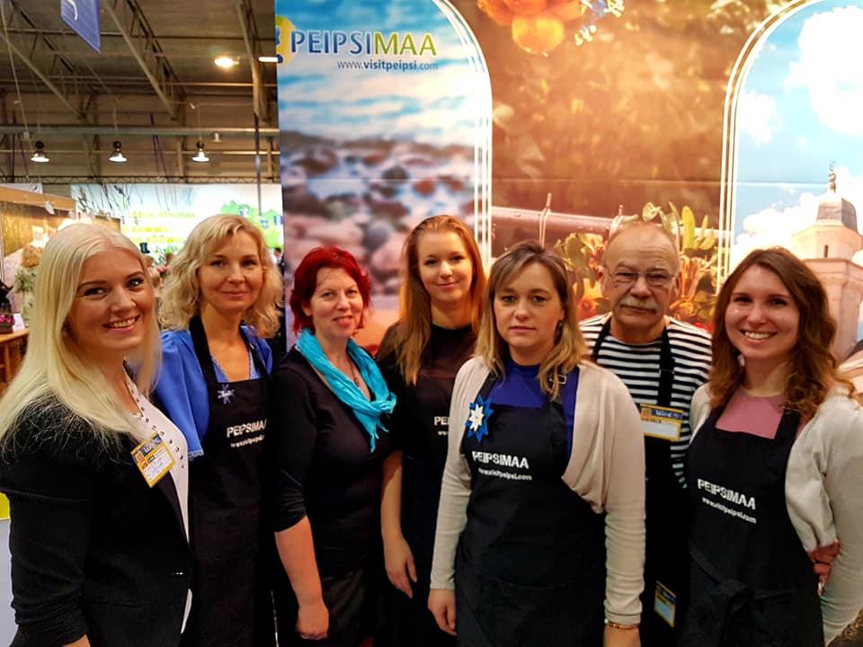 Peipsimaa turismiarendajad ja ettevõtjad messimaratonil