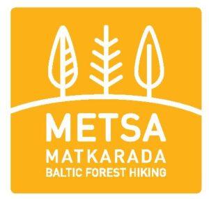 Metsa matkarada logo illustreerimaks Peipsi tegevuskava ja projekte