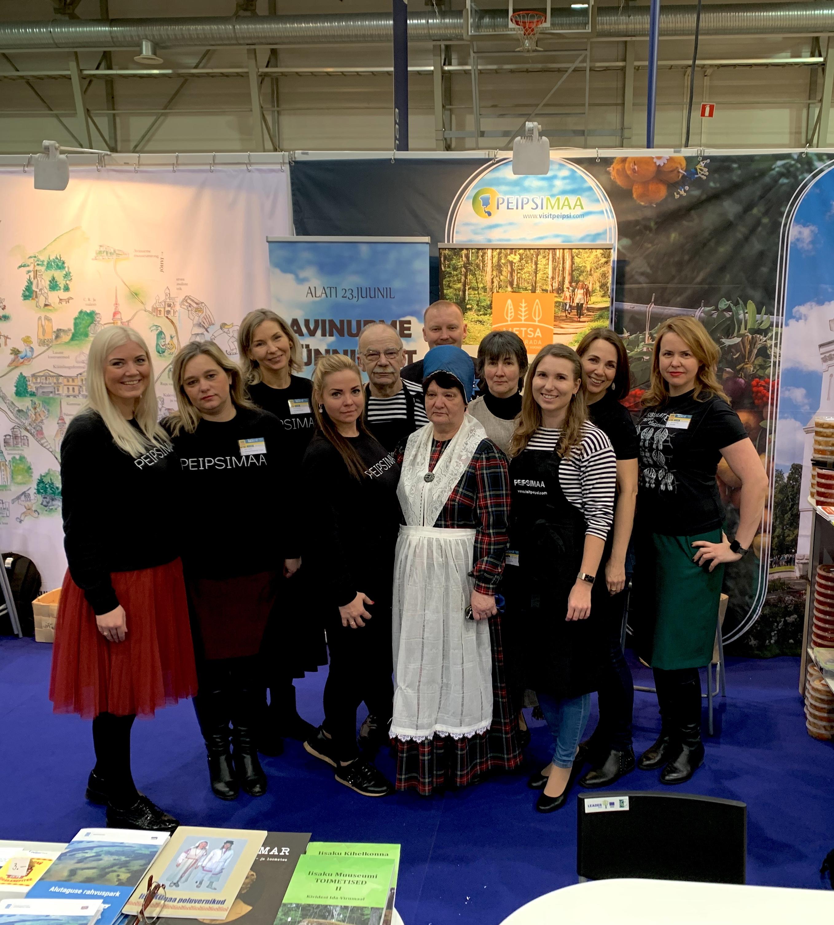 Peipsimaa koos Sibulateega kogusid tuntust Baltikumi turismimessidel