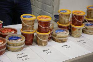 Peipsimaa ettevõtjad Helsingis Mardilaadal Peipsimaa esile toodud toidud