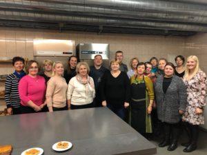"""Koolitusprogramm """"Kiika Peipsimaa kööki"""" IV moodul osalejad"""