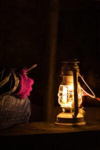 Peipsimaa valgusretk Peipsi järve ääres küünlaga