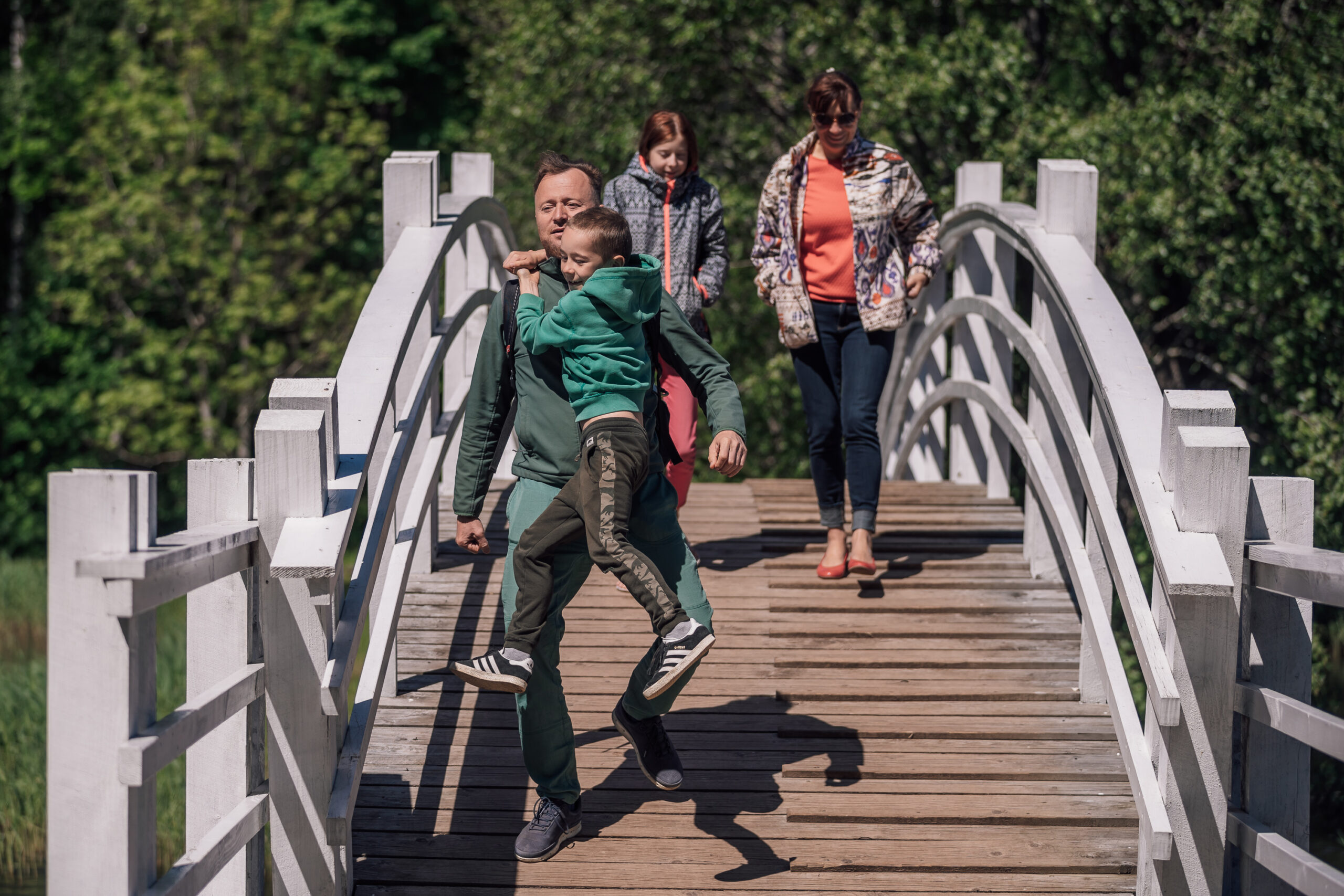 """The Forest Trail"" kaugmatkarada ""Metsa matkarada"""